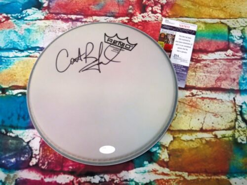 """Carter Beauford  ** DMB ** Signed 10"""" inch REMO Drumhead JSA Certified  (G392)"""