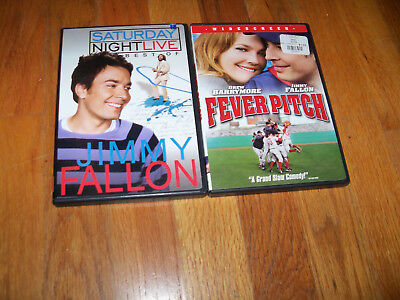 Jimmy Fallon DVD  Fever Pitch  & The Best of Saturday Night Live drew