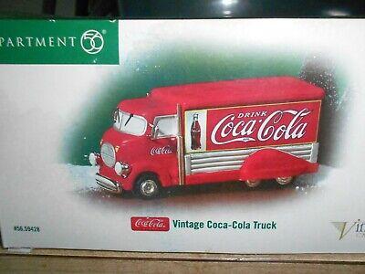 DEPT 56 Christmas In The City accessory VINTAGE COCA COLA TRUCK NIB