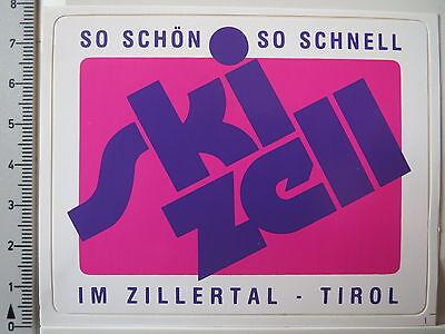 Aufkleber Sticker Ski Zell - Im Zillertal - Tirol - Skifahren - V1 (2954) online kaufen