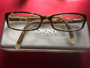 Authentic DKNY Prescription Glasses / Frames with HardShell Case