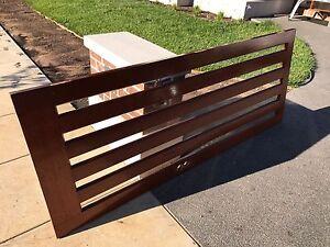 Solid timber door 2340mm x 920mm Lake Gardens Ballarat City Preview