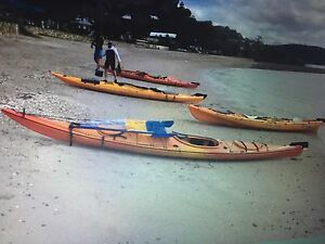 Kayak with sail. Kangaroo Point Brisbane South East Preview