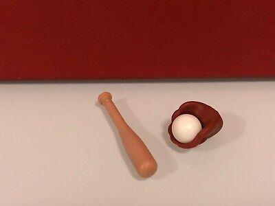 Playmobil deportes guante pelota bate beisbol baseball USA yankes campo de sueño