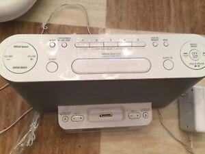 Sony Radio clock alarm