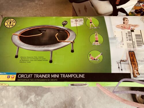 Mini Trampoline Home Aerobic Workout Circuit Trainer 36 Inch