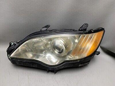 2008-2009 Subaru Legacy Outback Left Driver Headlight Head Light Lamp OEM 09