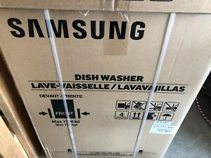 Samsung stainless dishwasher -brand new in box- $475 OBO