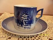 Royal Copenhagen Christmas Cup and Saucer
