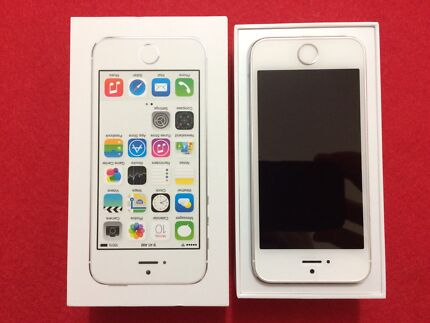 iPhone 5s silver 64gb Balga Stirling Area Preview