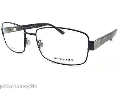 GUCCI mens Shiny Black with Dark Ruthenium Optical RX Glasses Frames  GG1942 RQ2
