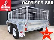 8x5 BOX TRAILER HOT DIP GALVANISED,INCLUDES GST, 2000 KG ATM Kew Boroondara Area Preview