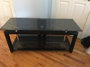 Glass TV Table - Perfect Condition