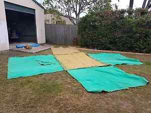 Vintage canvas tent with poles and pegs Tingalpa Brisbane South East Preview