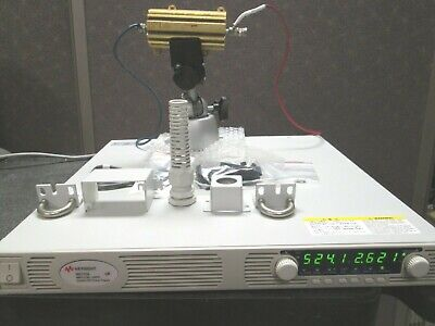 Keysight Agilent N5772a 600v 2.6a Power Supply Programmable Tested 1u High Rs485