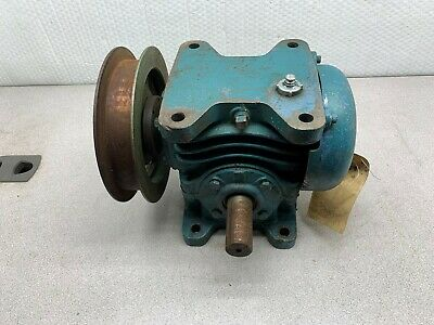 Used Morse Gear Speed Reducer 401 Ratio .98hp 1750 Rpm 25rw