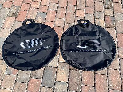 Shimano Single Wheelbags Set of 2 Black SM-WB11