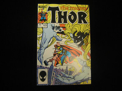 Thor #345 (Jul 1984, Marvel) MID GRADE