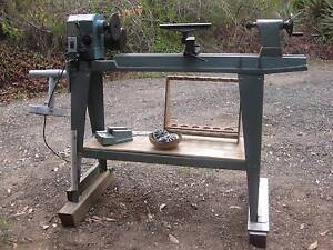 MC 900  Wood Lathe with rotating Spindle Head Barellan Point Ipswich City Preview