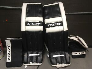 Gardien de but pro custom goalie ccm pads gloves 34 +2