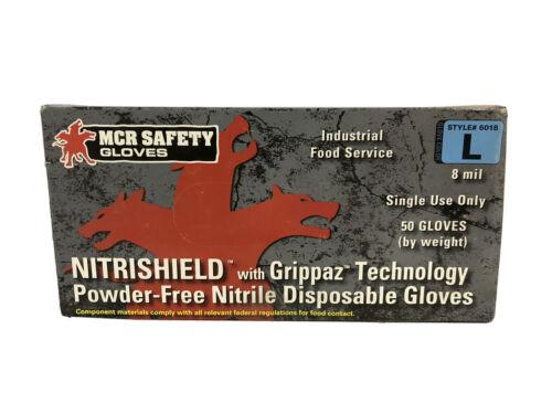 powder free nitrile gloves with grippaz technology