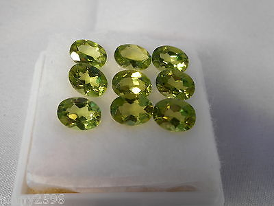 peridot 8x6mm oval gemstone £5.99 each stone.