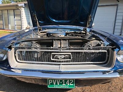 1968 Ford Mustang Coupe Hardtop Project - ***OVER 400 PHOTOS***