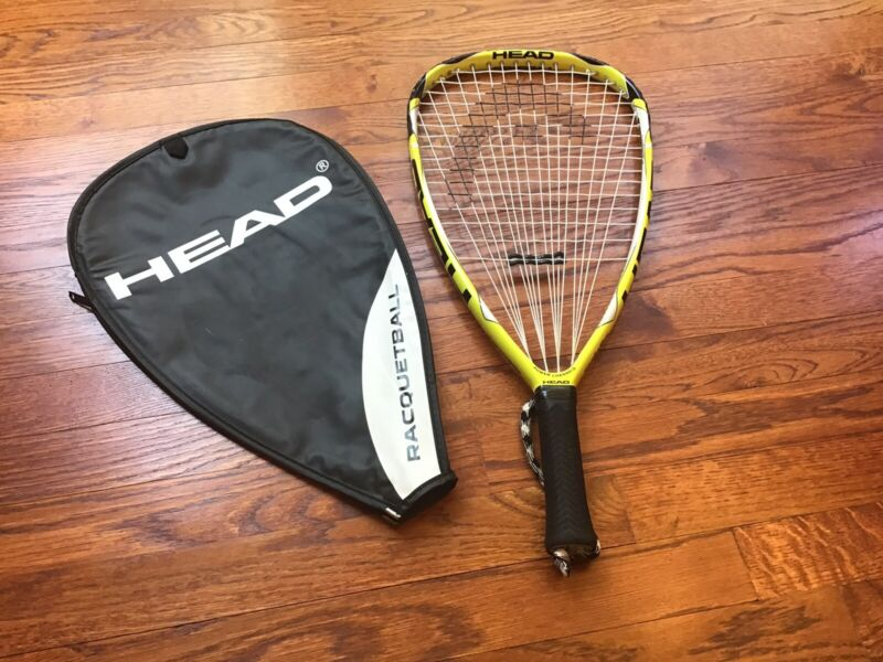 "Head Extreme 170 Metallix Flexpoint Racquetball Racquet Racket Ball 3 5/8"" Grip"