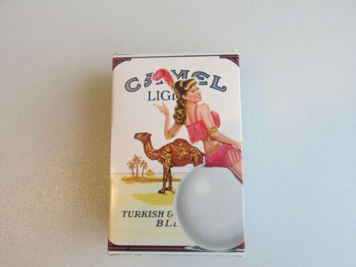 Drawer #19 Camel Lights EMPTY Slide Box Showgirl Cami VG Condition