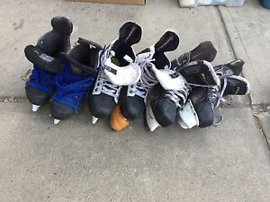 Hockey Skates and Equipment