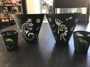 Partylite Metal Valence set