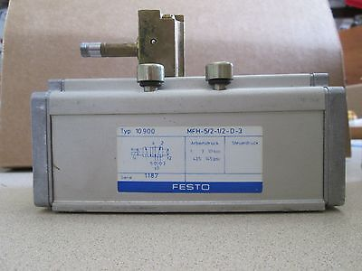 Festo 10900 Mfh-52-12-d-3 New No Package