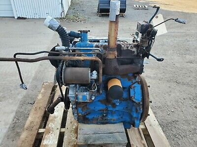 Ford 4500 Industrial Tractor Diesel Engine Running Take Out