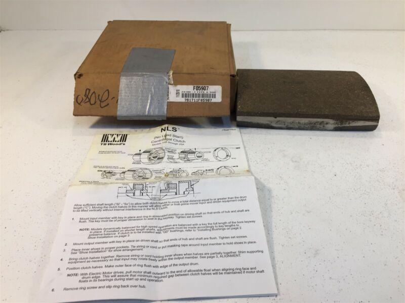 TB Woods F059027 N024-24180-I Type A Clutch Shoe