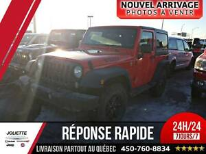 2017 Jeep Wrangler JK WILLYS, 4X4, BLUETOOTH