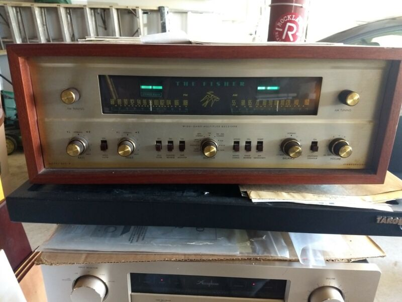 Fisher 800B Good Working condition.  Tested. ORIGINAL TUBES!! LOCAL PICKUP!