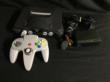 Nintendo 64 Console Package + 1 Controller & Leads + Warranty!!!