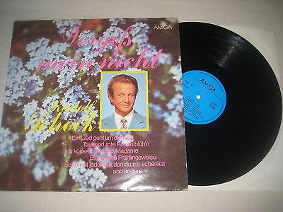 Rudolf Schock - Vergiß mein nicht  Vinyl LP  Amiga Label Typ 2