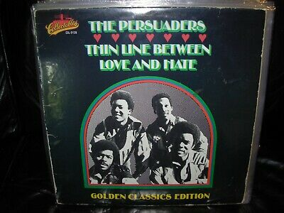 PERSUADERS thin line between love and hate ( r&b )