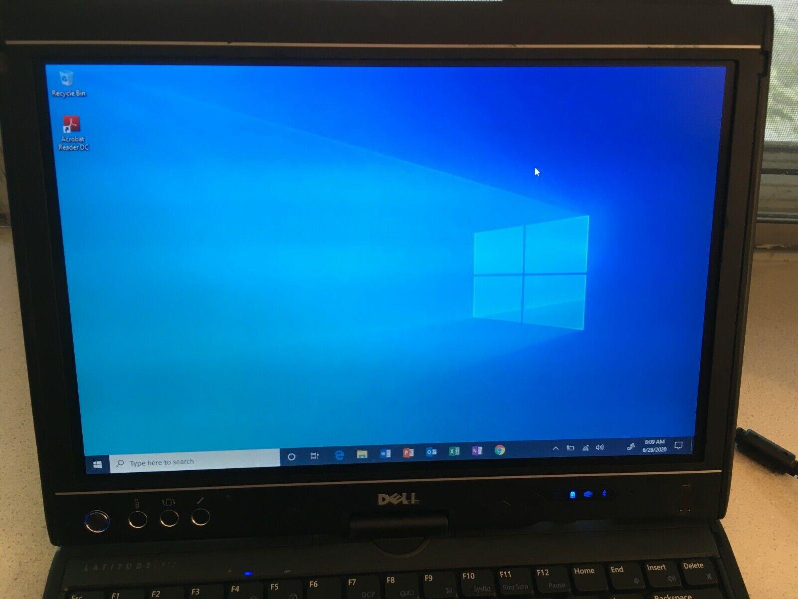 Laptop Windows - Dell Latitude XT2 Tablet Windows 10 Pro, 5GB Ram, 256GB SSD, MS Office