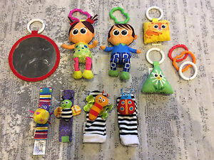 Lamaze Wrist & Foot Rattles and Play Toys