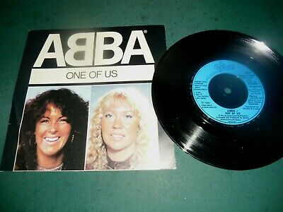 "ABBA 7"" SINGLE - ONE OF US/SHOULD I LAUGH OR CRY"