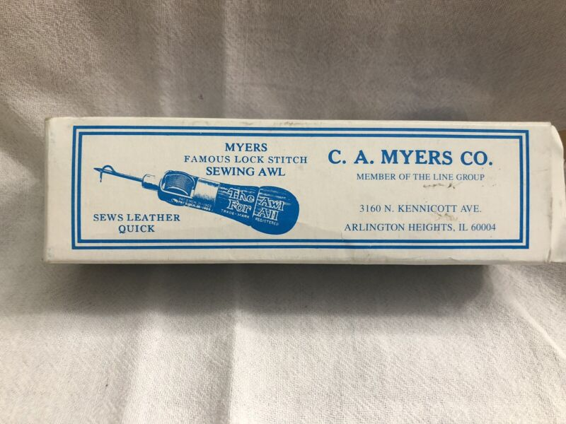 C.A. Myers Awl for All Sewing Awl Vintage NOS