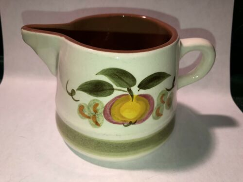Vintage Stangl Creamer And Sugar Mint