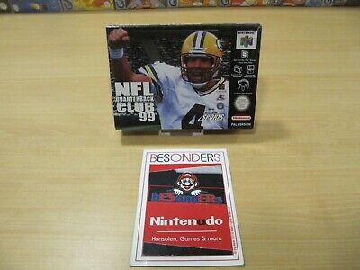 N64 NINTENDO 64 - NFL QUARTERBACK CLUB 99 - UNBESPIELT - SEALED - NEU - PAL