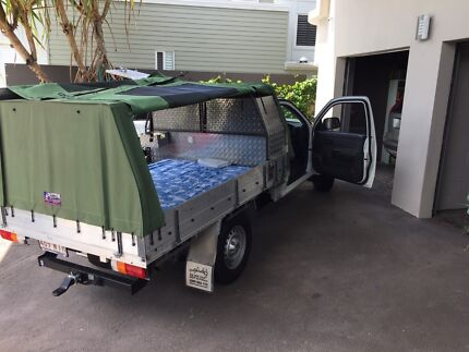 2011 Holden Colorado turbo diesel 4x4 Camper Work Ute with Canopy