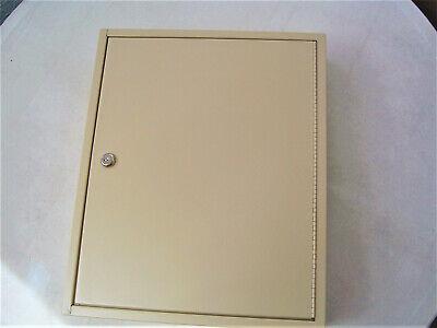 Mmf Idustries Steel Key Cabinetwall Mount110 Keys Sand Color