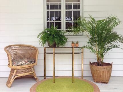Foyer Chair Gumtree : Stunning foyer table other furniture gumtree australia gold