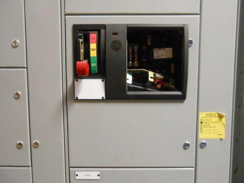 NEW GE EVOLUTION E9000 9000 SERIES MOTOR CONTROL CENTER BUCKET SIZE 2 NO BREAKER