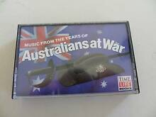 AUDIO CASSETTE TAPE ''AUSTRALIANS AT WAR '' Alberton Port Adelaide Area Preview